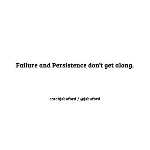 Failureandpersistence