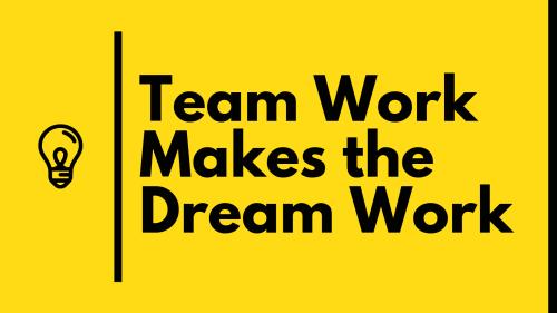 Teamworkdreamwork
